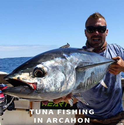 Tuna fishing in Arcachon