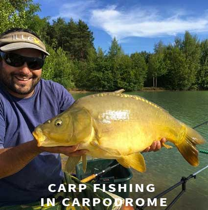 Carp fishing in France in Carpodrome