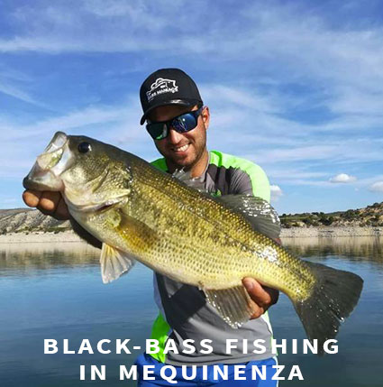 Black-bass fishing in Mequinenza