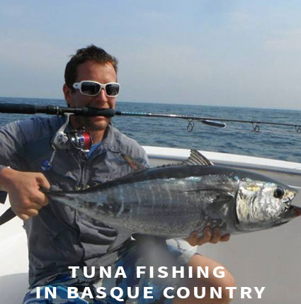 Tuna fishing in Basque Country