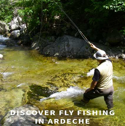 Discover fly fishing in Ardeche