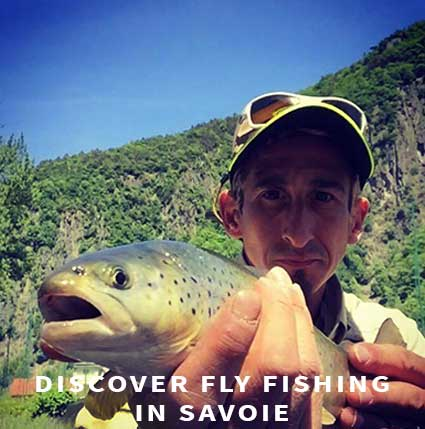 Fly fishing in Savoie