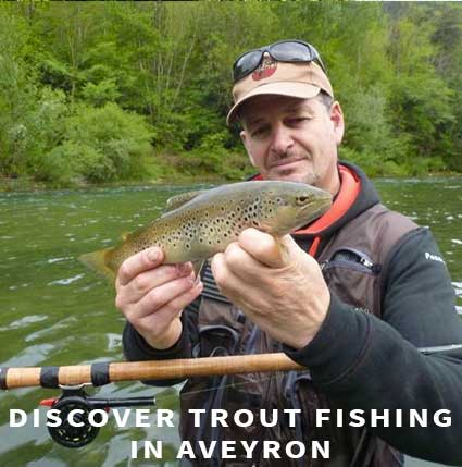 Discover trout fishing in Aveyron