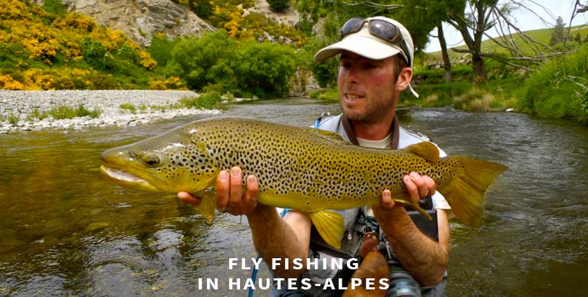 Fly fishing in Hautes-Alpes
