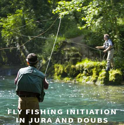 Fly fishing initiation in Jura and Doubs