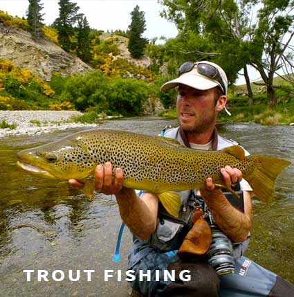 Trout fishing in France