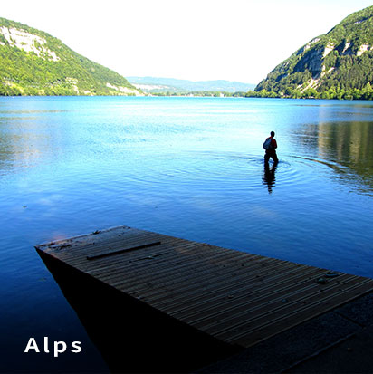 Fishing guide and lodge Alps