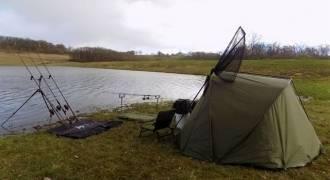 Camp de pêche silure et carpe