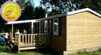 Camping Ser Sirant : Mobile-Homes au bord du lac Laffrey