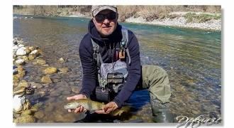 Découverte de la pêche à la mouche en rivière