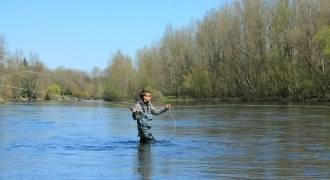 Stage de pêche à la mouche sur la Dordogne Corrézienne