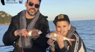 Initiation de pêche en mer