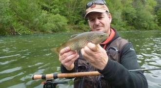 Trout fishing initiation in Aveyron