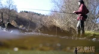 Initiation à la pêche de la truite au toc
