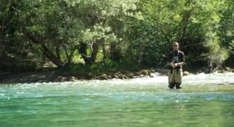 Journée de pêche de la truite en rivière varoise