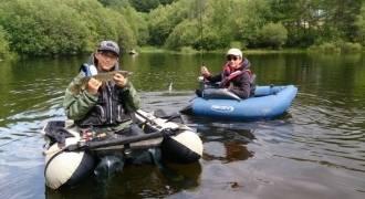Journée de pêche des carnassiers en float-tube