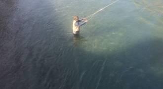 Initiation pêche à la mouche dans les Hautes-Pyrénées