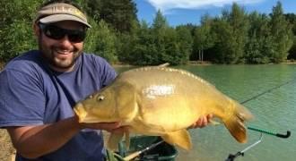 Pêche au coup en carpodrome en Franche-Comté