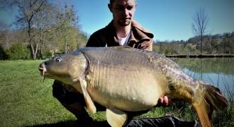 Carp fishing in Dordogne