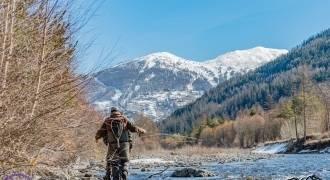 Pêche de la truite et des salmonidés en rivières