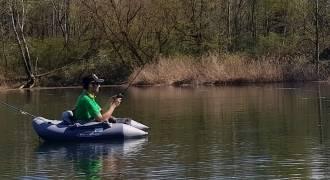 Pêche des carnassiers aux leurres en float-tube