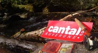 Fly fishing in Cantal