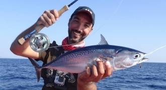 Fly fishing in the Mediterranean