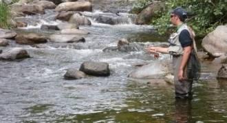 Pêche sportive en Limousin