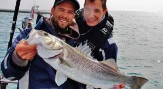 Pêche sur épave en mer Méditerranée