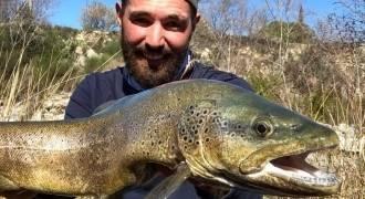 Pêche à la truite dans le Bas Verdon