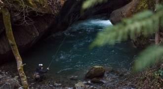 Pêche au toc dans les Pyrénées