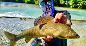 Grayling fishing in France