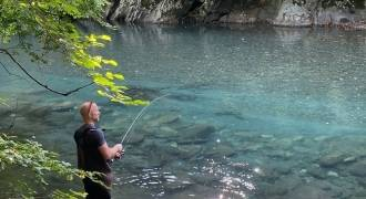 Trout fishing in Hautes-Pyrénées with lures