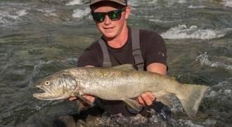 Pêche de la truite en Aragon