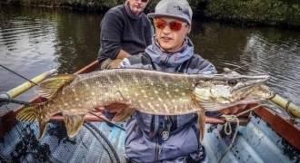 Pêche du brochet en Irlande