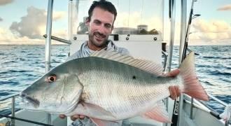 Demie-journée de pêche en bateau en Guadeloupe