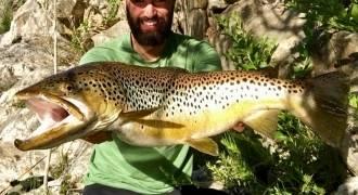 Séjour de pêche grosse truite en Espagne