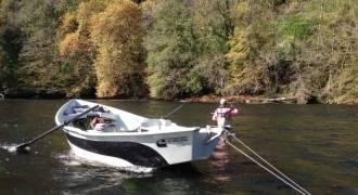 Séjour de pêche en bivouac sur la Dordogne