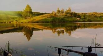 Fishing in private lake in south west of France
