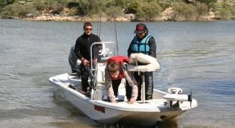 Fishing trip for kids in Spain
