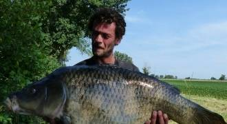 Carp fishing in Lot-et-Garonne
