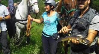 Séjour de pêche à cheval au fil de la Loire sauvage