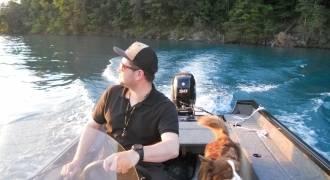 Pêche sur le lac de Brienz