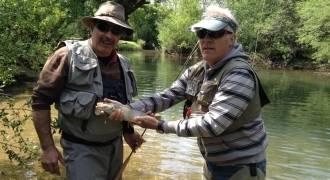 Stage de pêche au toc dans le Jura et le Doubs
