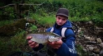 Trout fishing and grayling fishing in Auvergne