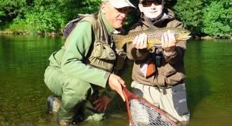 Stages de pêche à la mouche en Auvergne