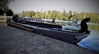Stage de pêche du silure en bateau