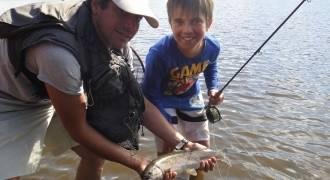 Stages de pêche à la mouche pour les jeunes
