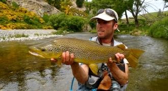 Sortie de pêche à la mouche dans les Hautes-Alpes