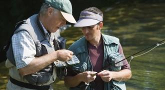 Initiation à la pêche à la mouche dans le Jura